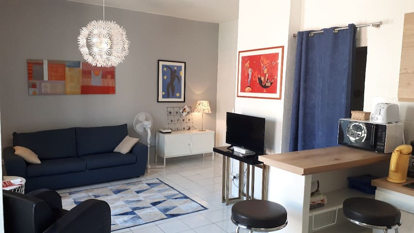 Grand studio cozy Montpellier centre - Beaux Arts