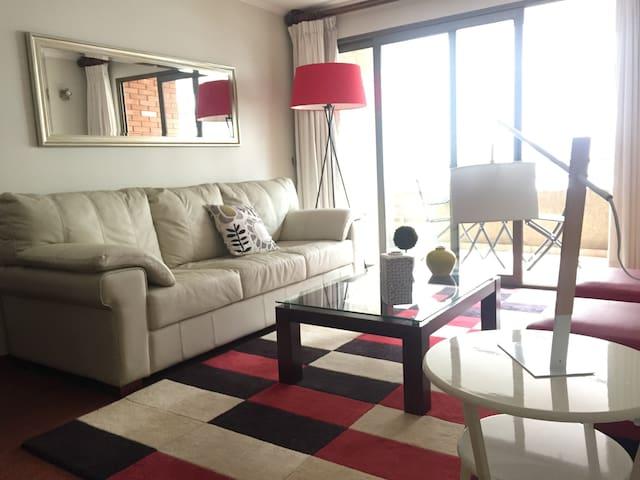 Cozy apartament, best location of Santiago - Las Condes - Apartemen