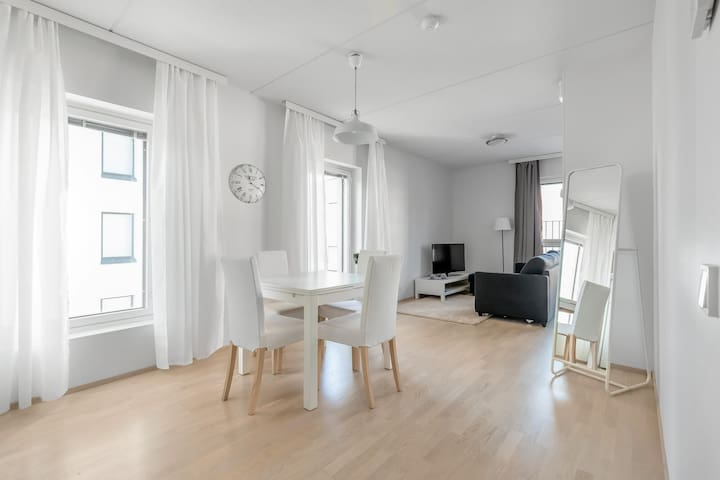 Excellent modern apartment in the city center