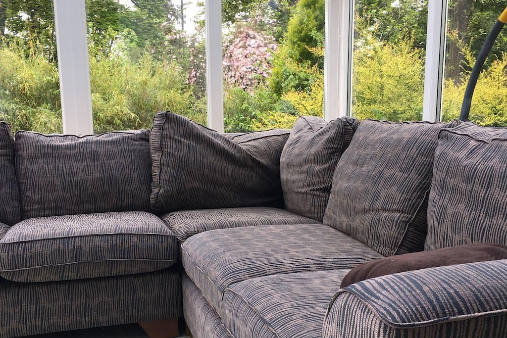 So comfy - conservatory