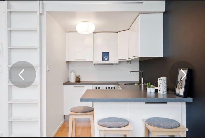 Sentralt beliggende leilighet!