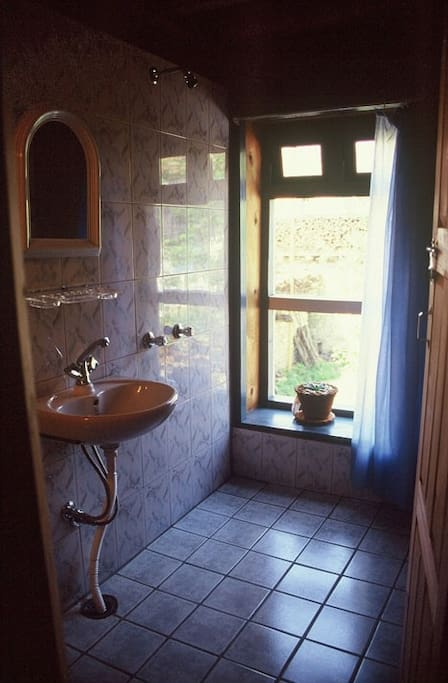 Attached bath room