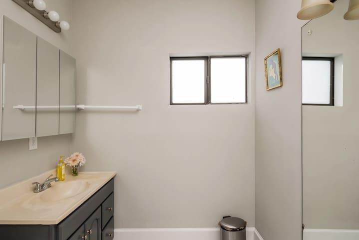 Vanity area of Shared Bathroom