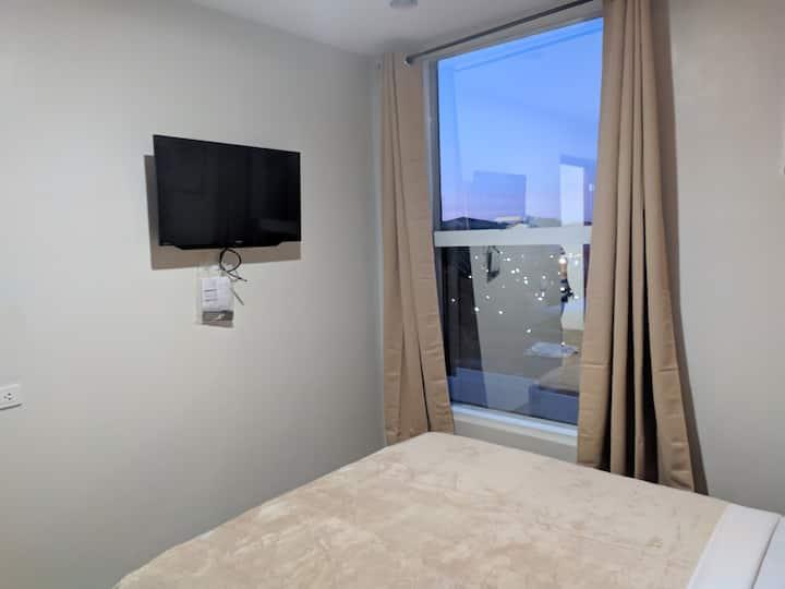 Basic room 2 single beds