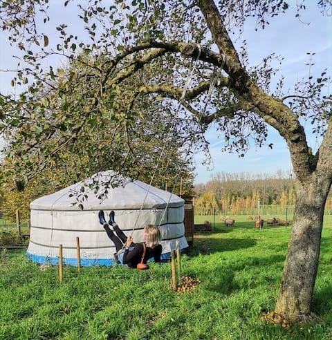 Joert in appelboomgaard