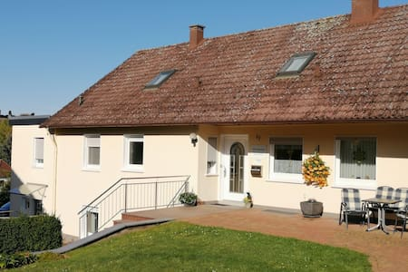 Apartment in Polle with Heating, Terrace, BBQ, Deckchairs
