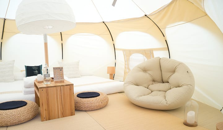 Nacpan Beach Glamping, The One and Only