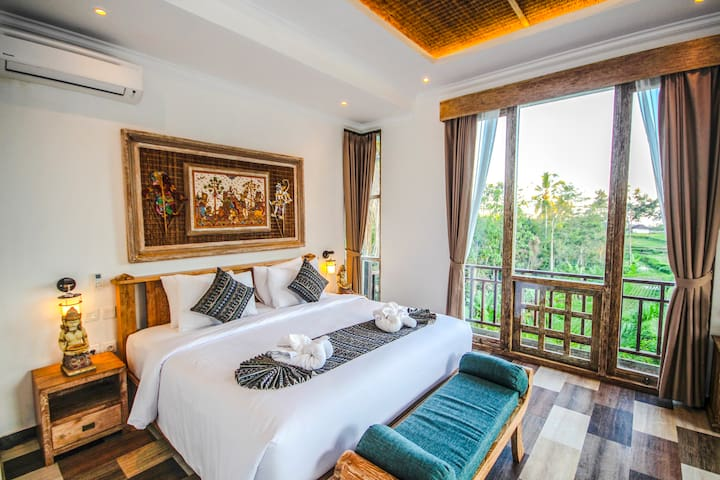 Deluxe Ricefield View Room