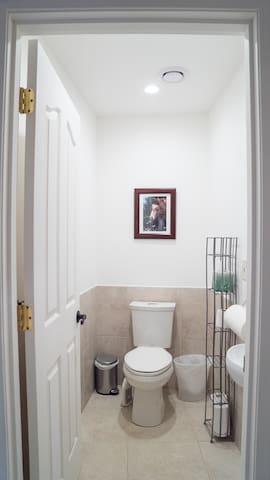 Hallway half-bathroom (2 of 2)