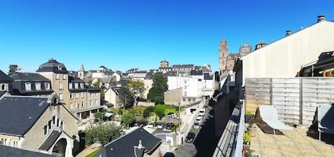 Appartement entre cathédrale et musée Soulages