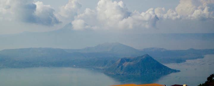 Amazing views of Taal Volcano
