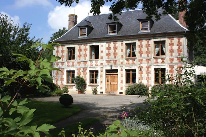 La Mézeray - Chambre Verte