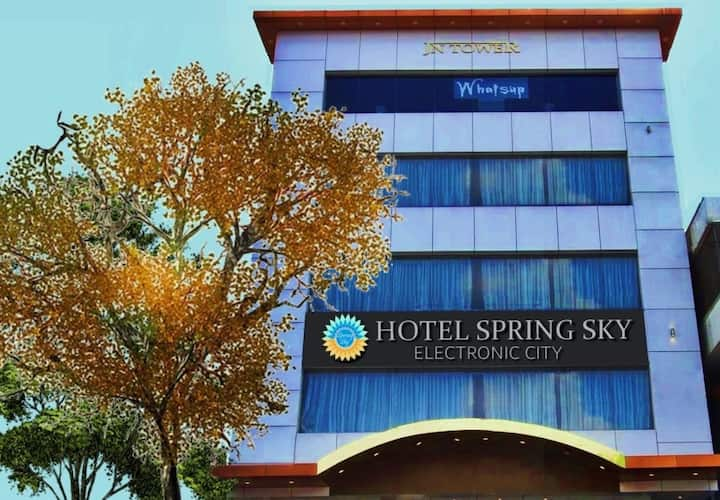 Comfy stay at Spring Sky Bangalore Electronic City