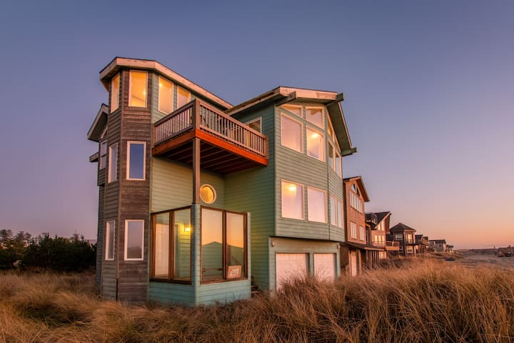 Seaside Splendor #133 - large Pacific City home across the street from beach with fantastic views