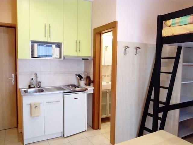 Studio meublé confort et calme - Chambéry