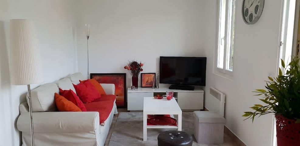 """""""Les Marais du Vexin"""" logement indépendant+jardin"""