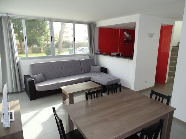 AB-Home Apartments, 200 mts to the beach 0A duplex - Son Servera - Leilighet