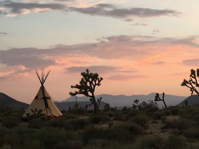 Golden Moon Tipi at Lazy Sky-(2)