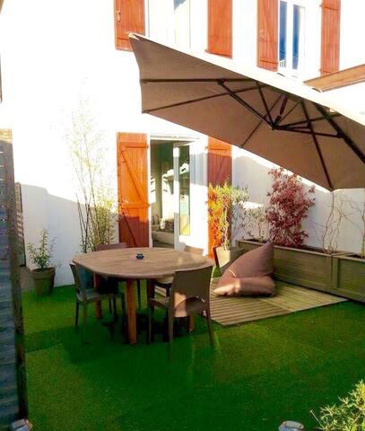 Maison 70m2 avec jardinet plein sud - Anglet - Rumah