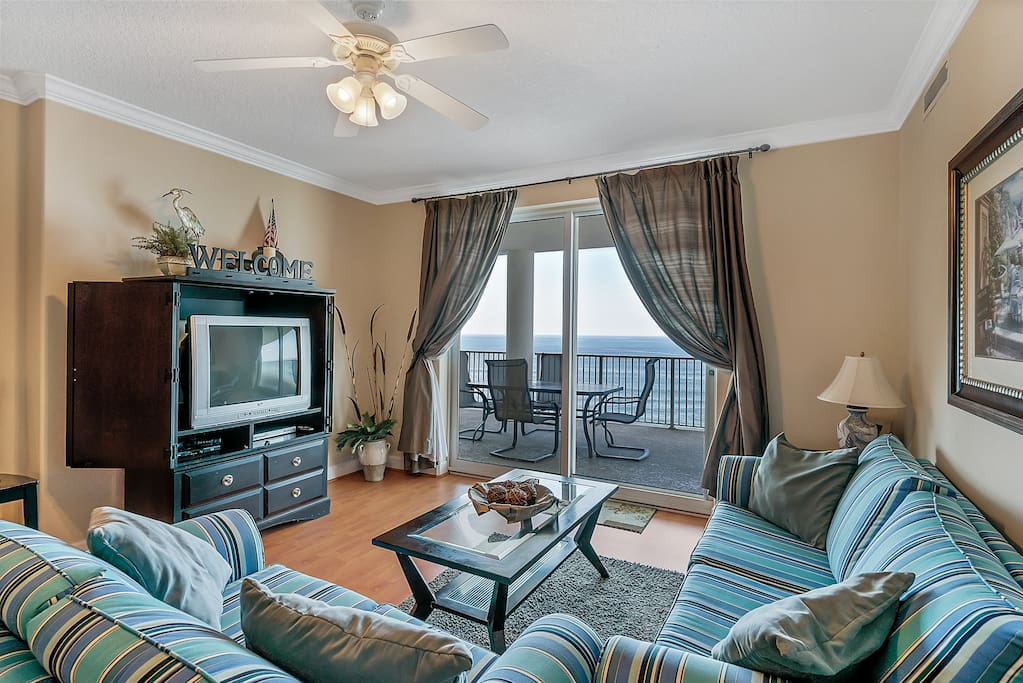 Spectacular Gulf Views from your vacation home at Ocean Ritz 1103