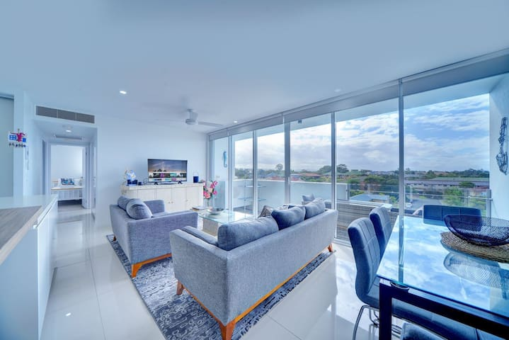 Modern Contemporary Southport Apartment