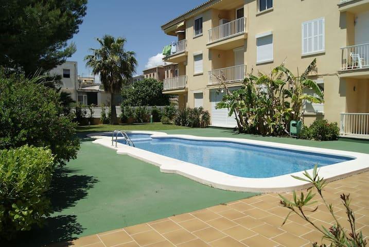 Apartament de platja, zona nord, Bahia d'Alcudia - Can Picafort - Apto. en complejo residencial