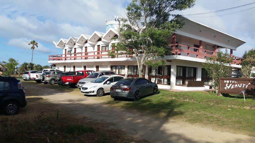 Hotel Yerutí, disfrútelo personalmente