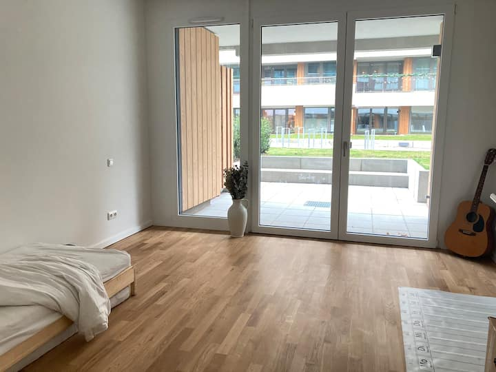 Lichtdurchflutete Wohnung mit Terrassen