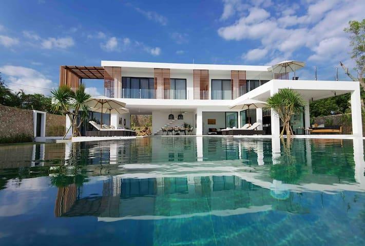 L'espoir II - ocean view+huge pool+ butler