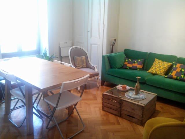 Bright room in Plainpalais/Jonction - Женева - Квартира