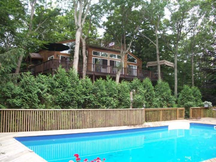 Peaceful Wooded Retreat - please read thru listing