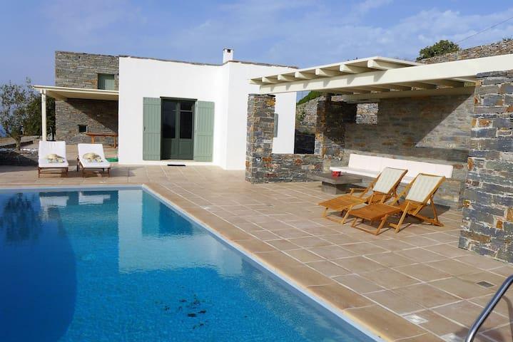 Villa Acorn - Ioulis - Casa de camp