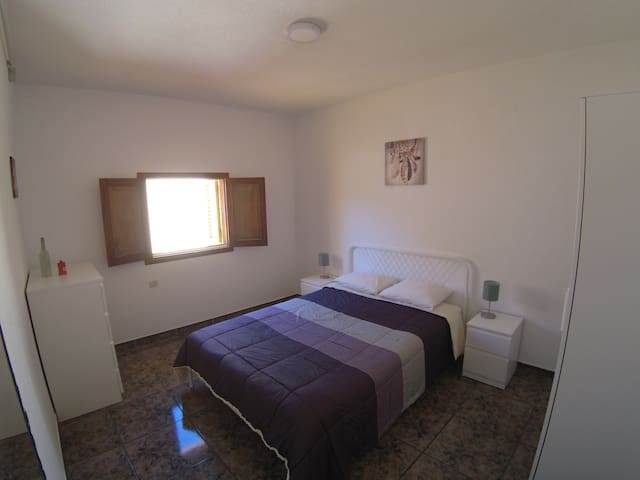 Double bed at B&B VistalRoque