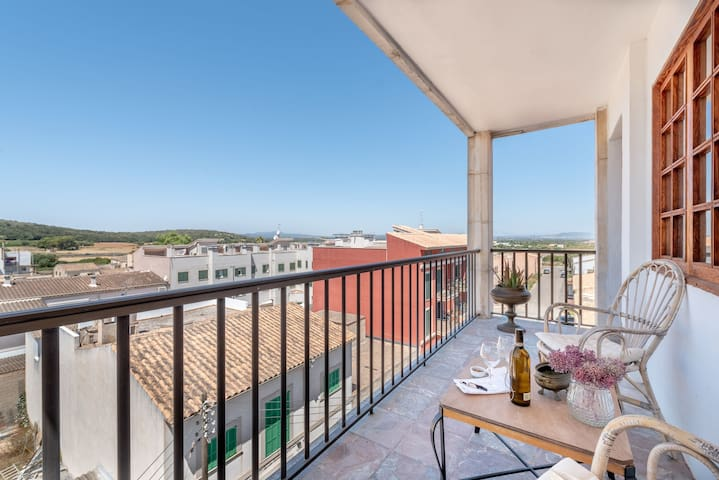 Modern Apartment with Balconies & Wi-Fi; Pets Allowed, Parking Available
