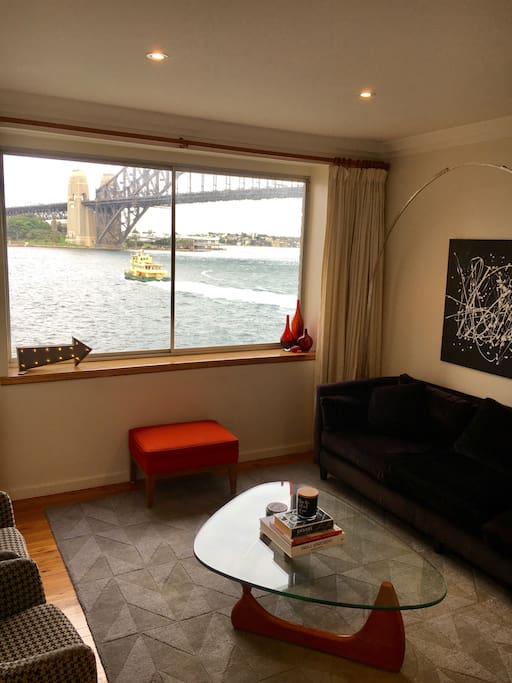 breathtaking sydney harbour views wohnungen zur miete in kirribilli new south wales australien. Black Bedroom Furniture Sets. Home Design Ideas