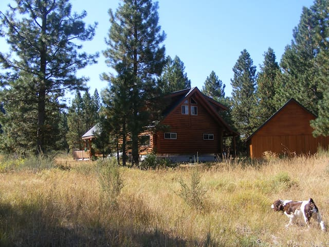 Log House nestled in the mt. forests of So. Oregon - Klamath Falls - Huis