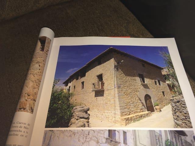 Maestrazgo. Casa rural acogedora y tranquila