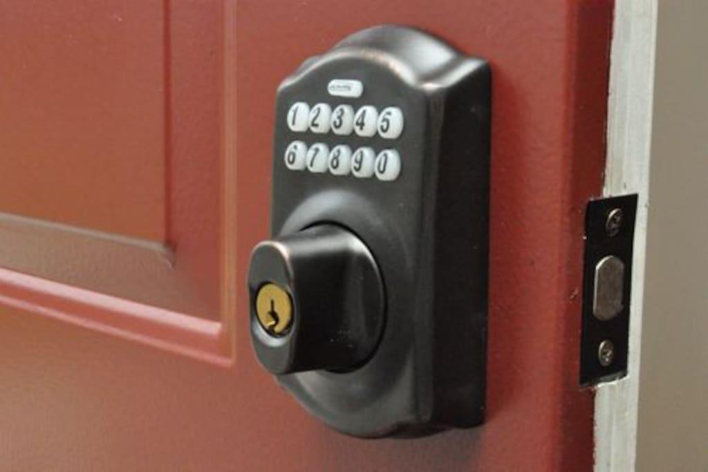Keypad Codes on All Doors