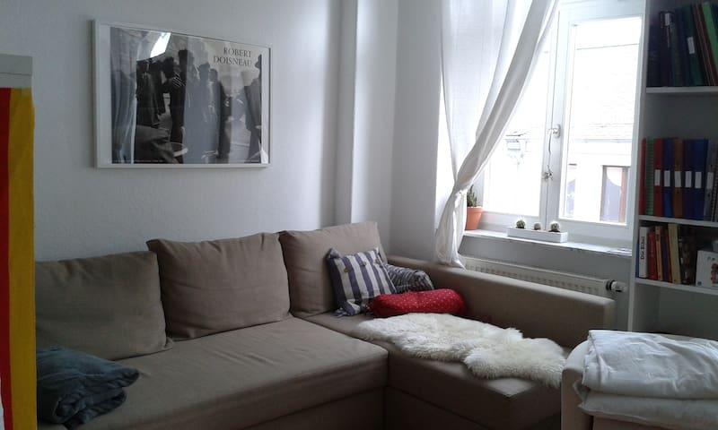 Helles Studentinnenzimmer im Szeneviertel Neustadt - Dresden - Apartment