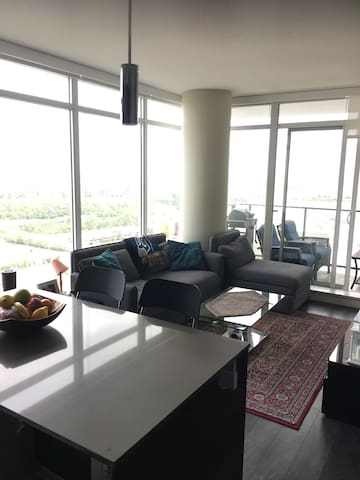 Shared Kitchen and living area