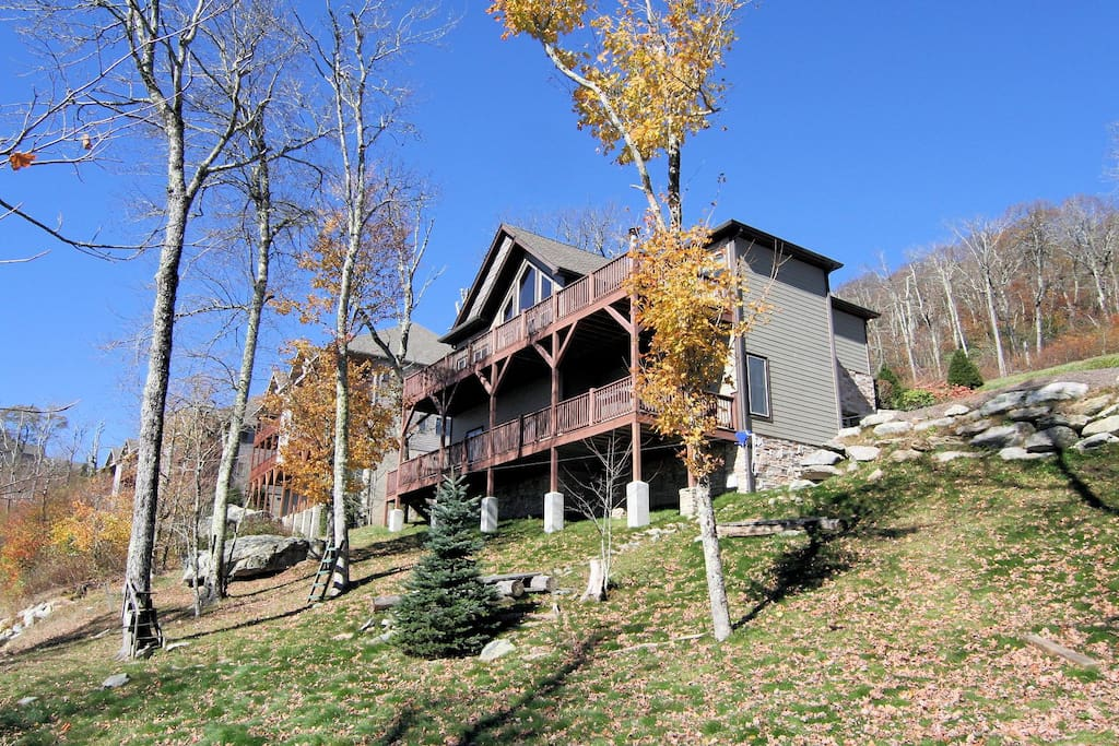 Beautiful mountain home on Sugar Mt with incredible View