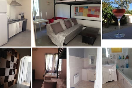 Petit studio au calme en Provence - Mondragon - Apartamento