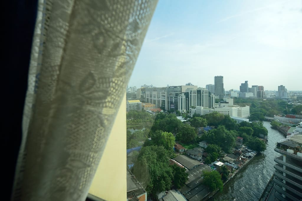 Bangkok's view from 18th floor
