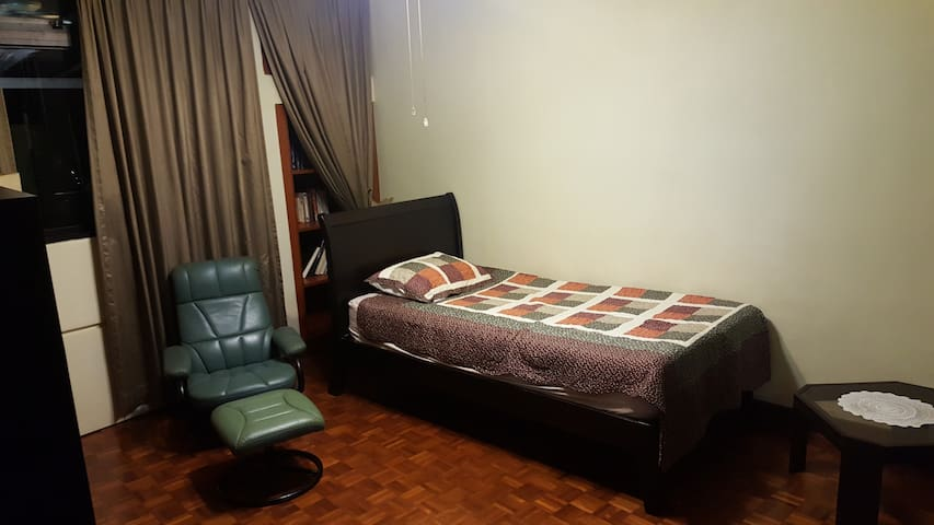 Relaxing comfy room in a private condominium - Singapur - Apto. en complejo residencial