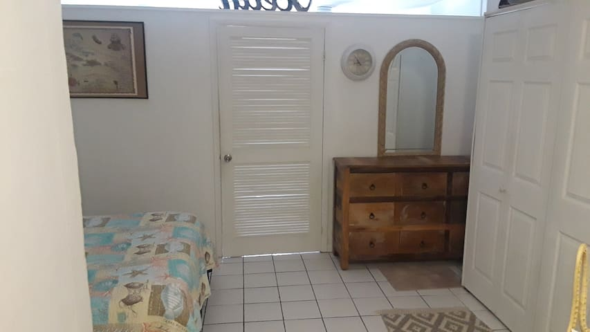 Close door for more privacy.