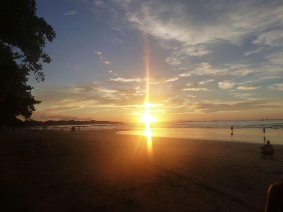 Tamarindo Sunsets, Seen Daily