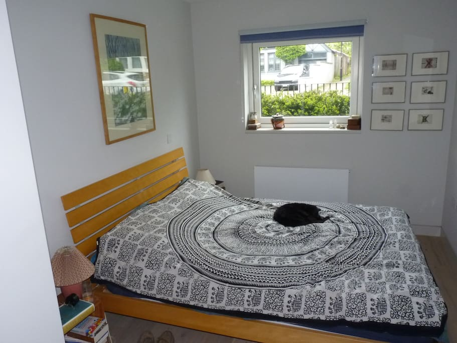 Bedroom - cat not included!