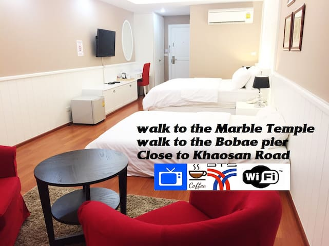 CozyHouse for4people☆MBK☆near Khaosan☆BTS☆7-11 - Bangkok - Appartement