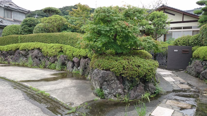 茶室・温泉を備えた夫婦の一軒家 - Kirishima - Rumah