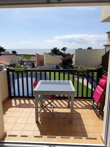 Appartement 3pièces avec Balcon et piscine